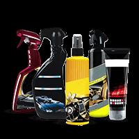 Produits de nettoyage et d'entretien du vehicule