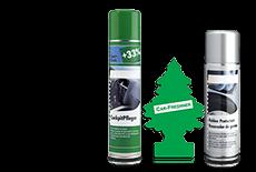 Produits de nettoyage d'intérieur et entretien de voiture