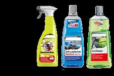Produits de lavage de voiture et soins extérieurs